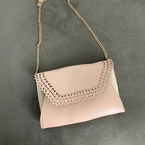 Pink Crossbody bag or Clutch